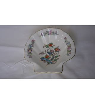 WEDGWOOD BONE CHINA KUTANI CRANE SHELL DISH