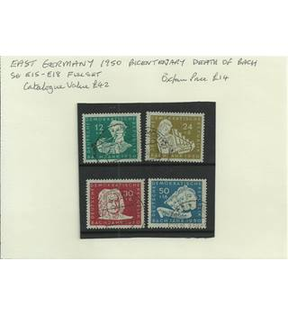 East Germany 1950 Multi-coloured