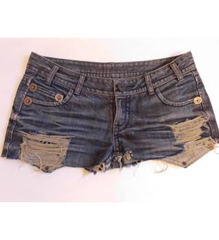 Ladies distressed Designer shorts by THOMAS WYLDE