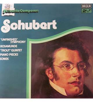 Schubert 'Unfinished) Symphony, Rosamunde, Trout Quintet, Piano Pieces, Songs. Vienna Phil. Decca DPA545/6 2LPs