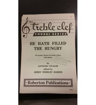 He Hath Filled The Hungry by Antonio Vivaldi