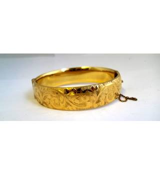 Gold-plated - Size: Medium - Bracelet