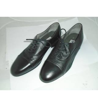 Stemar Italian Handmade Shoes  - Size: 9 - Black - Lace-ups - All leather Shoes