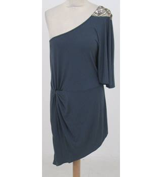 Next - Size: 16 - Grey - Asymmetrical dress