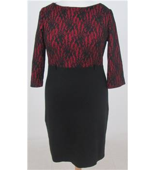 Adika Collection size: 12 black & red pencil dress