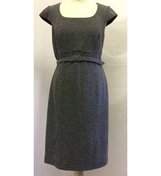 Phase Eight - Size 12 -Grey with Black Smart Dress
