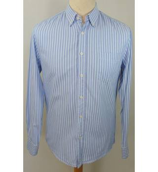 Howick - Size: S - Blue - Long sleeved shirt