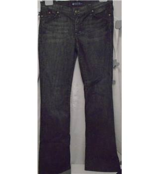 "Rock & Republic  size 30"" Waist Dark Blue with Hints of Gold Jeans"