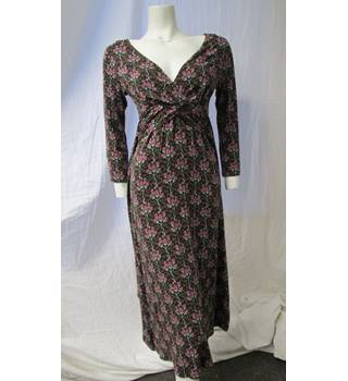 White Stuff Size 10 Brown Patterned Dress White Stuff - Size: 10 - Brown