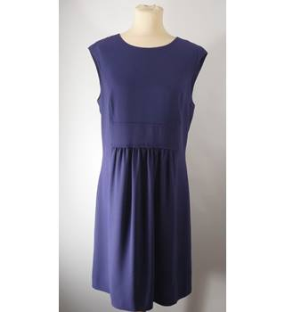Hobbs - Size: 12 - Dark Purple - Ladies' Sleeveless Dress