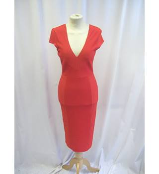 ASOS - Size: 8 - Red - Knee length Dress