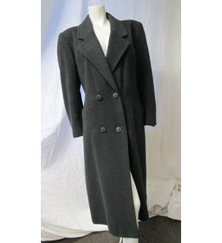Planet Size 16 Long Grey Coat Planet - Size: 16 - Grey