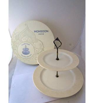 """Monsoon"" by Denby Fine China Cake Stand"