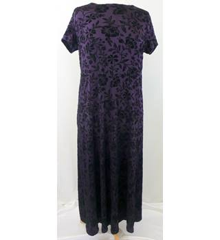 Blooming Marvellous - Size: 12 - Purple - Long Maternity Dress