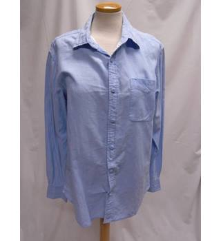 Debenhams Jasper Conran - Size: M - Blue - Long sleeved shirt