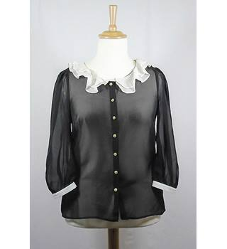 Atmosphere  Size: 14  Black and Cream  Blouse