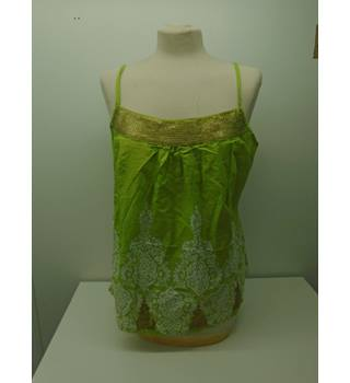 Monsoon - Size: 14 - Green - Sleeveless top(L7)