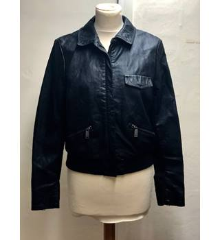 M&S Limited Black Size 10 Bomber Jacket