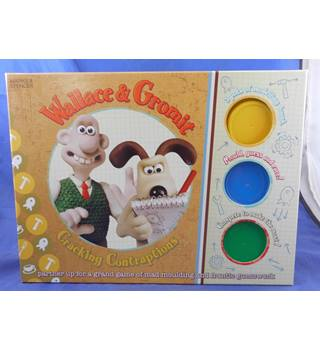 WALLACE & GROMIT CRACKING CONTRAPTONS BOARD GAME WITH PLAY DOUGH