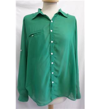 TFNC London - Size: 10 - Emerald Green - Blouse