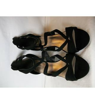 Women's Black High Heels M&S Marks & Spencer - Size: 7.5 - Black