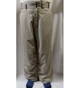 'see  photo' - Size: L - Brown - Trousers