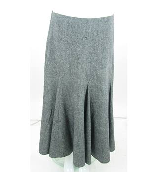 Ted Baker - Size: 10 (Ted Baker size 2) - Grey Long skirt