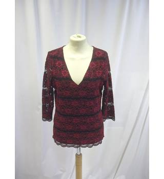 Per Una - Size: S - Red - Long Sleeved Top