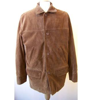 Hawkshead - Size: S - Brown - Suede jacket
