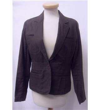 Jasper Conran - Size: 12 - Dark Brown -  Jacket