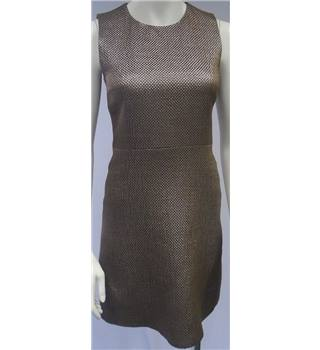 Victoria Beckham- Size 8 - Metallic Copper- Evening Dress