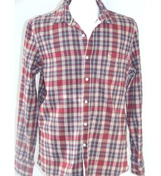 Jack Wills Mens Flannel Checked Shirt Size Large Indie/Grunge Style Jack Wills - Size: L - Multi-coloured - Long sleeved