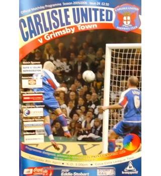 Carlisle United v Grimsby Town - League Two - 8th April 2006