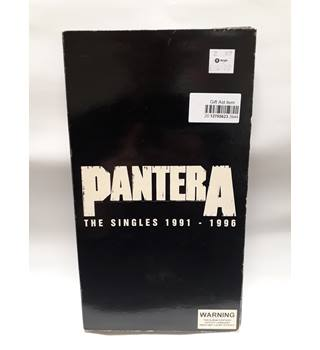 The Singles 1991-1996 Single, Box set VERY GOOD condition Pantera