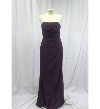Kelsey Rose - Size: 8 - Purple - Evening dress