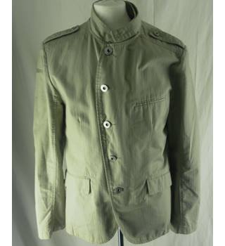River Island - Size: L - Cream / ivory - Casual jacket / coat