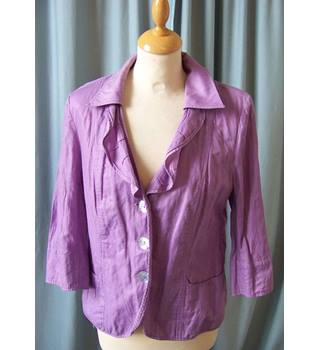 FSR Collection - Size: M - Purple - Casual jacket / coat