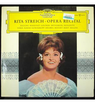 Rita Streich Opera Recital. Reinhard Peters, Chorus and Orchestra of the Berlin Opera. - LPEM 19495