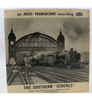 Argo Transacord - The Southern 'Schools'.