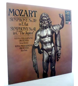 "Symphony No 39 in E flat K 543 / Symphony No 41 in C ""The Jupiter"" Mozart"