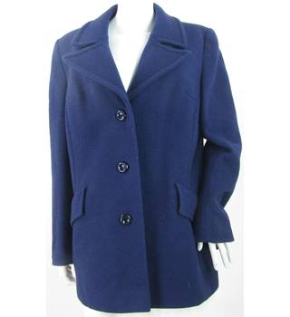 Gordonia - Size: 18 - Pure New Wool - Blue - Casual jacket