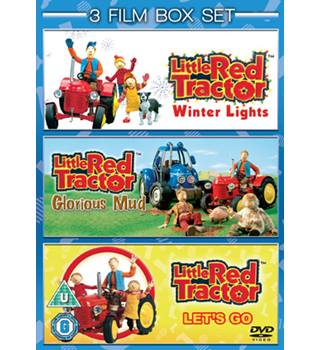 LITTLE RED TRACTOR WINTER LIGHTS/LET'S GO/GLORIOUS MUD U