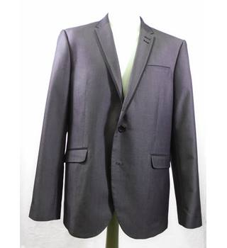 "Grey ""Cedarwood State"" 44R Slim fit single breasted grey suit"