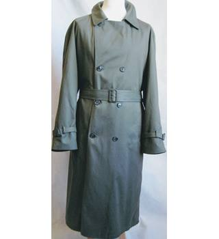 Weather Man khaki trench coat size 42R Weather Man - Size: XL - Green - Trenchcoat