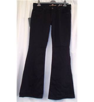 "BNWT 7 For All Mankind Size: 31"" waist (to fit)  Black Jeans"