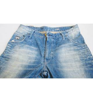 "G-Star Raw GSO1 Twisted style jeans W33 L32 G-Star Raw GS01 - Size: 32"" - Blue - Jeans"