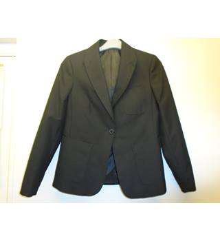 M&S Marks & Spencer - Size: 12 Years - Black Single breasted blazer (L5)