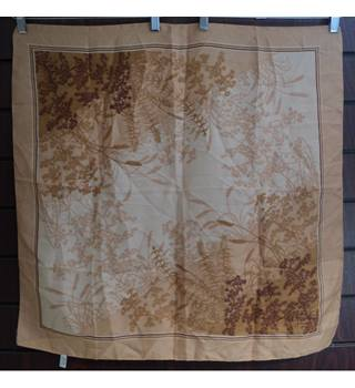 Vintage Japanese - Size: One size - Brown - Scarf