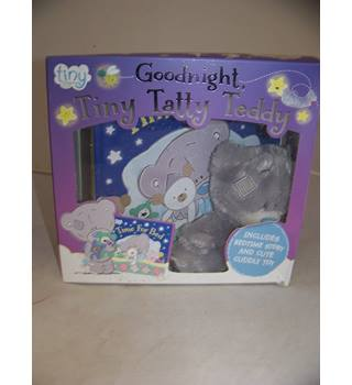 Goodnight, Tiny Tatty Teddy (Book & Plush T/Teddy) (Board book)