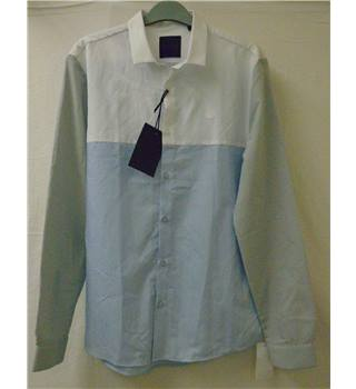 BNWT Anonimasu - Size: S - Blue and Grey - Long Sleeved Shirt